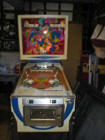 Jumping Jack pinball machine for sale