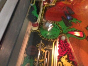 Magna save on Flippers Black Knight pinball machine for sale in Arezzo Italy