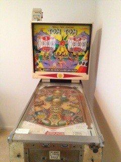 1963 Tom Tom pinball machine for sale