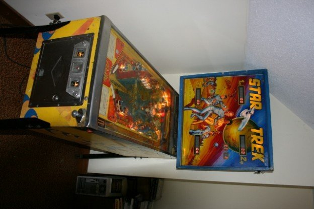 Full game of 1978 Star Trek pinball machine for sale in Hampton Roads Virginia