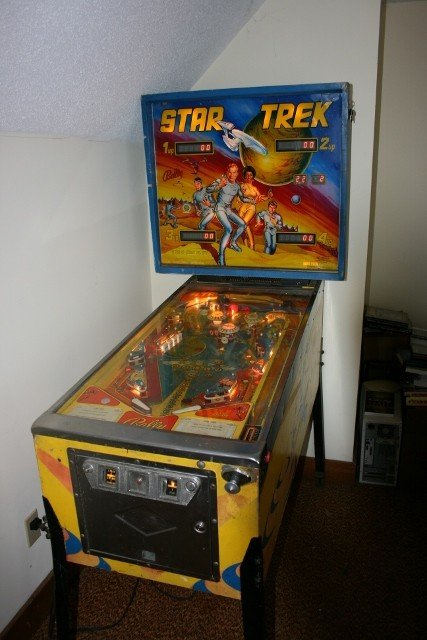 1978 Star Trek pinball machine for sale in Hampton Roads