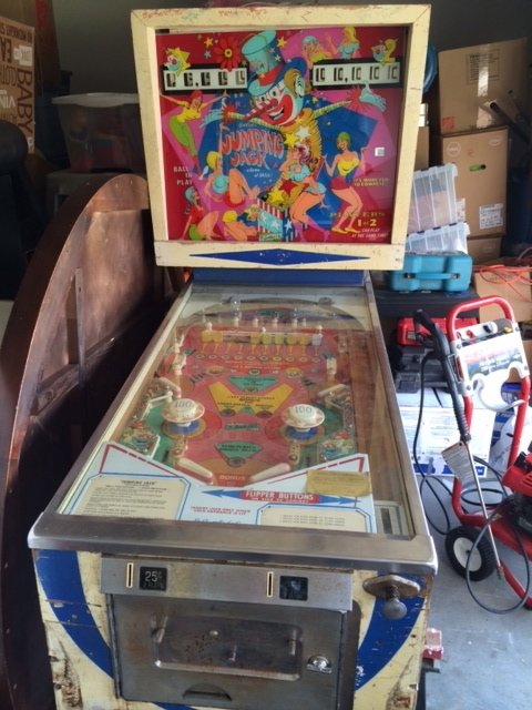 Gottlieb Jumping Jack pinball machine for sale