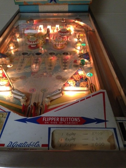 Gottlieb's Sing Along pinball machine for sale in Cleveland, Ohio
