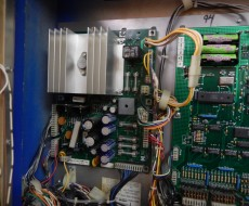 Power board in DataEast Star Wars pinball machine for sale in Iowa
