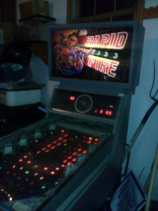Rapid Fire Pinball machine