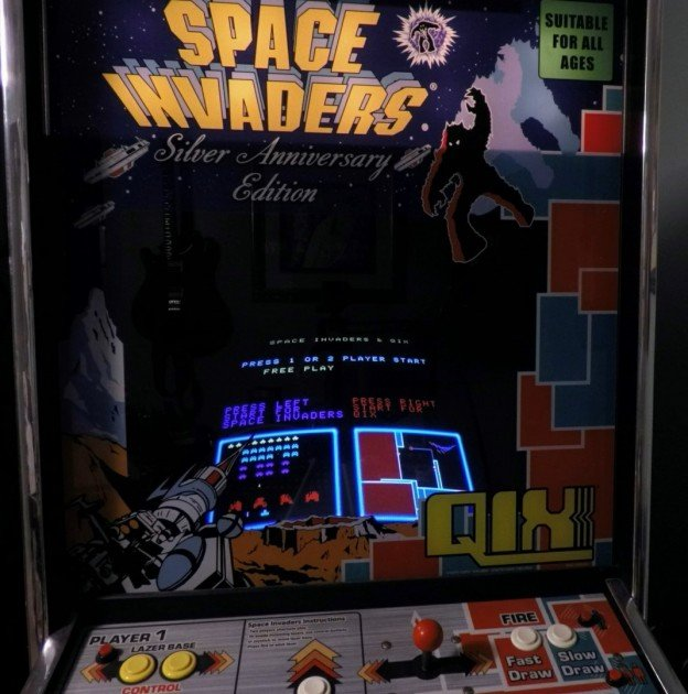 Space invaders / Qix video arcade game for sale in Carrollton, Texas