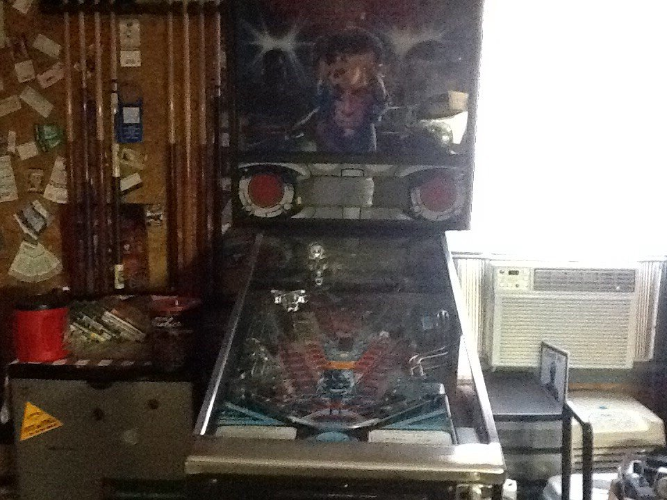 terminator 2 judgement day pinball machine for sale in mount vernon il. Black Bedroom Furniture Sets. Home Design Ideas