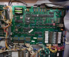 electronic board in DataEast Star Wars pinball machine for sale in Iowa