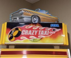 Topper on Crazy Taxi upright video arcade game for sale
