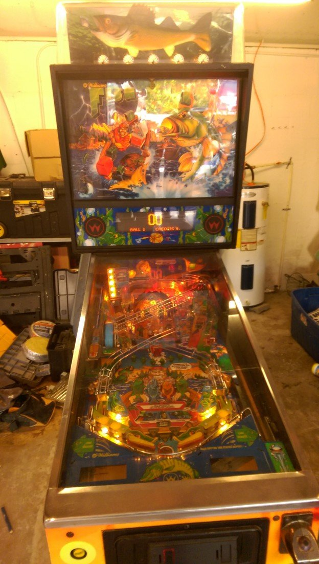 Fishtales pinball machine for sale in Leonardtown