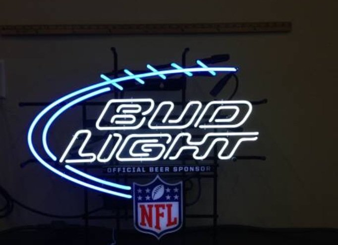 neon bud light sign nfl northwest signs chicago illinois suburbs coin games arcade op archives category yuengling pinball il game