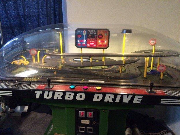 Turbo Drive slot car arcade game