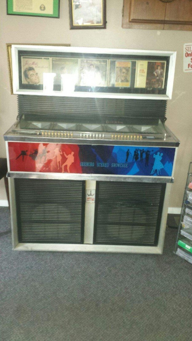 Seeburg Jukebox with records for sale in Duncan, South Carolina